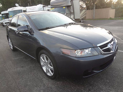 Acura : TSX Premium sports 2005 tsx premium sports sedan 6 speed with i vtec 200 hp very clean warranty wow