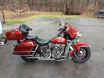 Harley-Davidson : Touring 1973 harley davidson electraglide flh shovelhead antique motorcycle