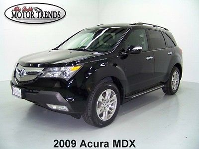 Acura : MDX TECHNOLOGY PACKAGE ENTERTAINMENT PACKAGE 2009 acura mdx awd factory dvd player nav sunroof leather tech pkg 100 k