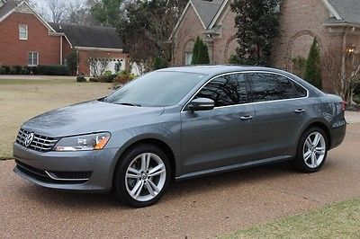 Volkswagen : Passat TDI SE w/Sunroof One Owner Perfect Carfax TDI Diesel Heated Seats Moonroof Great Service History