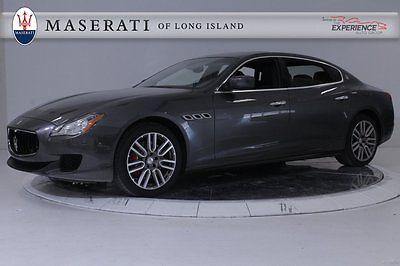 Maserati : Quattroporte S Q4 AWD Premium Red Calipers HomeLink Shift Paddles Apollo Keyless WiFi Ebano Alcantara