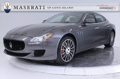 Maserati : Quattroporte GTS V8 Carbon Fiber Metallescent Keyless Alcantara WiFi Hotspot Forged 20 Navigation