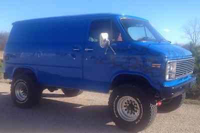 Chevrolet : G20 Van 1 ton G-30 1979 chevrolet pathfinder 4 x 4 van