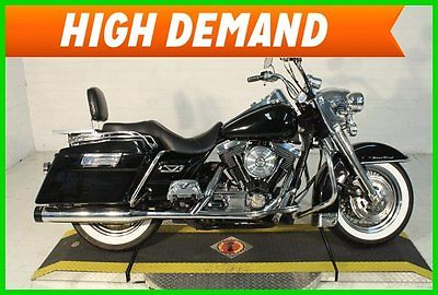 Harley-Davidson : Touring 1998 harley davidson touring road king classic flhrci used