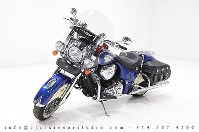 Indian : Chief 2014 indian chief 111 ci v twin powered cruzer w under 5 k miles