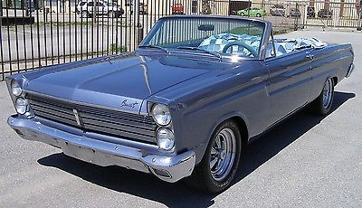 Mercury : Comet Caliente 1965 comet convertible blue jeans interior