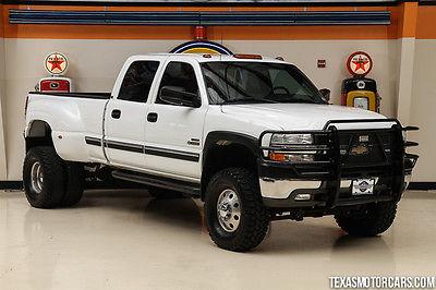 Chevrolet : Silverado 3500 LS 2001 white ls amazing financing avail rates start 1.79