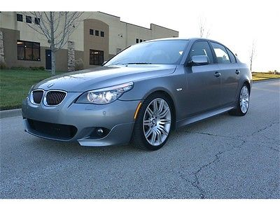 BMW : 5-Series 550i Sport 2008 bmw 550 i sport low miles outstanding condition