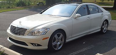 Mercedes-Benz : S-Class 4Matic Sedan 4-Door 2008 mercedes s 550 4 matic amg package under 33 000 miles excellent condition