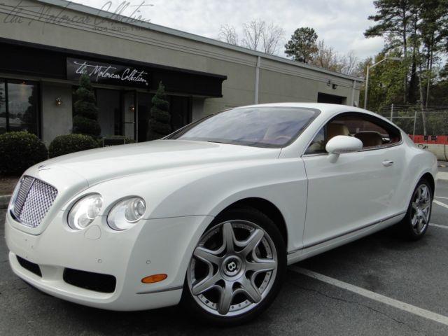 Bentley : Continental GT Mulliner 2006 bentley gt mulliner only 15 k miles showroom condition clean carfax