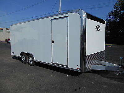NEW 2016 ATC ALL ALUMINUM 8.5x20 TRAILER RACE CAR HAULER YEAR END CLEARANCE!