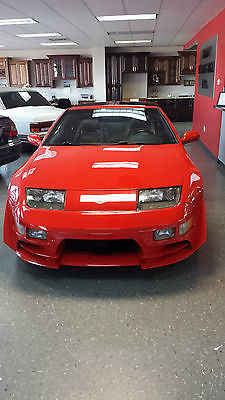 Nissan : 300ZX 2+2 VERY RARE 1995 RED NISSAN 300ZX 2+2 5 SPEED