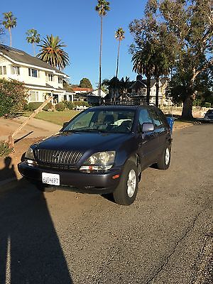Lexus : RX RX300 2000 lexus rx 300 awd leather seats sunroof premium package towing package