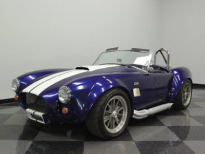 Shelby : Cobra Replica FACTORY FIVE, STRONG 289 V8, 5 SPD, PERFECT COLORS, GREAT LOOK, STRONG RUNNER!
