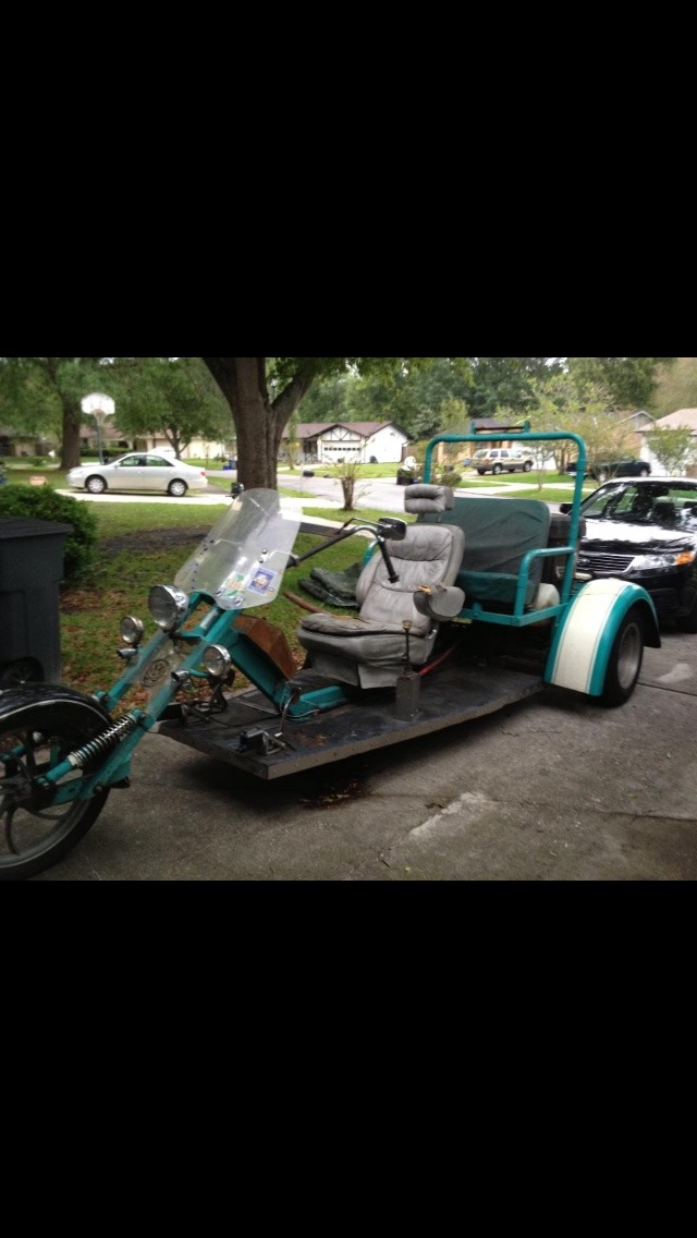 2002 Custom Chopper