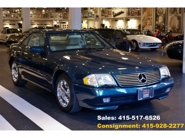 Mercedes-Benz : SL-Class SL500 SL500 Convertible 5.0L Steering wheel trim: leather Front air conditioning