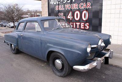 Studebaker : Champion 1950 studebaker champion 2 door coupe 6 cyl 3 speed very orginal survivor