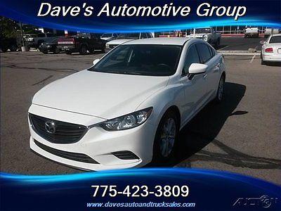 Mazda : Mazda6 i Sport - GREAT ALMOST NEW CAR!! 2015 mazda mazda 6 sedan i sport 2.5 l 4 cyl automatic rear camera fwd alloy