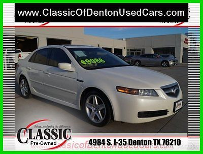 Acura : TL Base Sedan 4-Door 2006 used 3.2 l v 6 24 v automatic fwd sedan premium