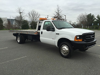 Ford : Other Pickups XLT Cab & Chassis 2-Door 1999 ford f 550 super duty xlt 7.3 l diesel rollback tow truck roll back flatbed