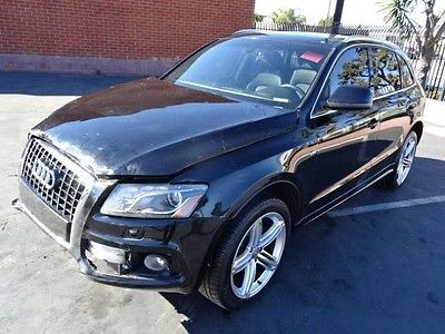 Audi : Q5 3.2 quattro Premium 2011 audi q 5 3.2 quattro premium salvage wrecked repairable priced to sell l k