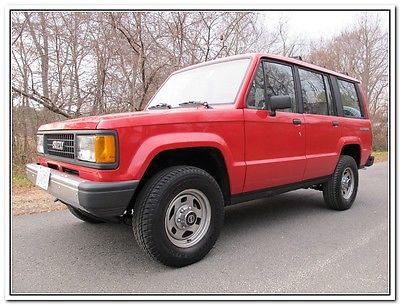 Isuzu : Trooper 4x4 1989 isuzu trooper ii 4 x 4 one owner from california
