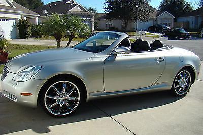 Lexus : SC 430 Convertible 2002 lexus sc 430 contertible low miles beautiful car loaded
