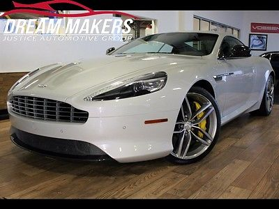 Aston Martin : DB9 Base Coupe 2-Door 2014 aston martin db 9 silver fox