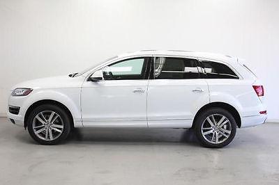 Audi : Q7 Premium Plus Sport Utility 4-Door 2014 audi q 7 3.0 t premium plus turbo charged v 6 carrara white blind spot