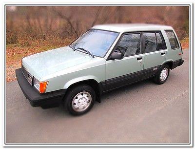 Toyota : Tercel SR5 1985 toyota tercel sr 5 4 x 4 88 910 original miles