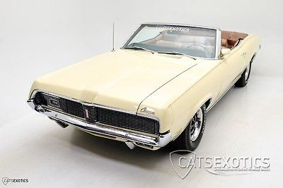 Mercury : Cougar XR-7 Convertible Restored - 351 V8 - Automatic - Rare Air Conditioning -