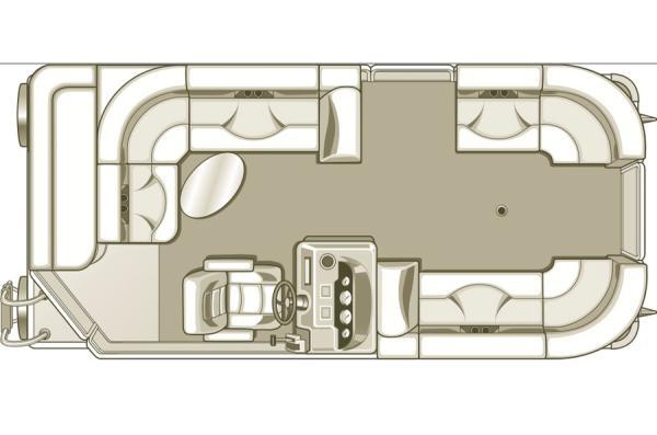 2016 Sylvan Mirage 8520 Cruise