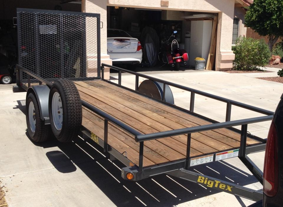 2015 Big Tex Trailers Single Axle Trailers 30SA/35SA