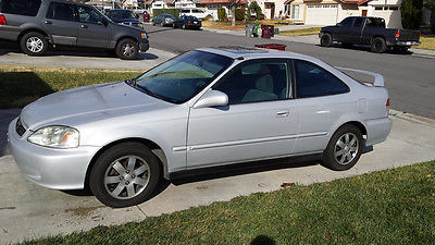 Honda : Civic EX Coupe 2 Door 1999 Honda Civic Ex Coupe 2 Door 1.6