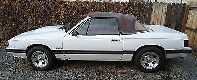 Mercury : Capri 1979 mercury capri convertible one of only 500 factory authorized