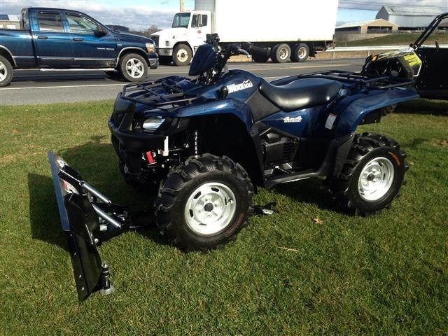 Suzuki King Quad 500 4x4 With Snow Plow Motorcycles for sale
