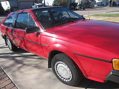 Volkswagen : Scirocco Coupe 1987 vw scirocco mk 2 excellent condition original survivor