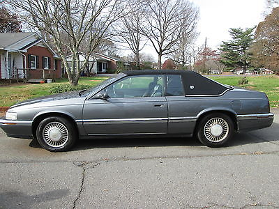 Cadillac : Eldorado Base Coupe 2-Door 1992 cadillac eldorado base coupe 2 door 4.9 l salvage title