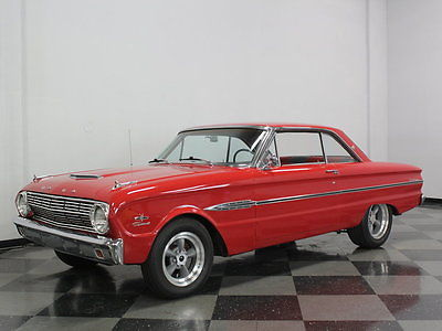 Ford : Falcon Sprint 347 ci stroker motor nice rangoon red paint 4 speed manual sweet falcon