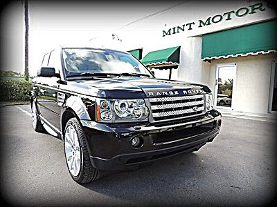 Land Rover : Range Rover Sport Supercharged FL, 1 OWNER, CARFAX CERTIFIED, COMPLETE SERVICE HISTORY, NEAR PERFECT - STUNNER!