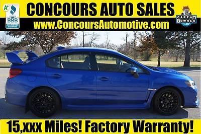 Subaru : WRX STI Sedan 4-Door Manual 6-Speed H4 2.5L 2015 subaru wrx sti manual 6 speed awd h 4 2.5 l turbocharger gasoline