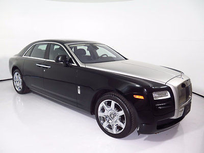 Rolls-Royce : Ghost 4dr Sedan 2012 rolls royce ghost only 6 k miles stainless pkg rear entertainment loaded 13