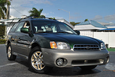 Subaru : Legacy 5dr Outback Ltd Automatic 2002 legacy outback limited wagon only 50 000 orig miles 1 owner florida car