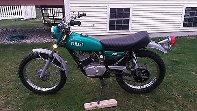 Yamaha : Other 1972 yamaha lt 2 100 cc enduro at ct dt ht 1 vintage