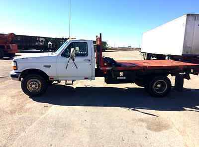 Ford : F-350 Base Cab & Chassis 2-Door 1997 ford f 350 diesel dually flat bed work truck