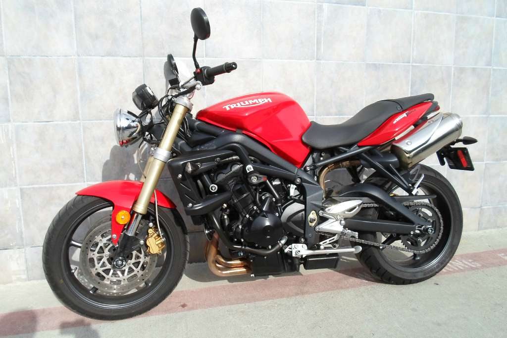 triumph street triple r diablo red motorcycles for sale. Black Bedroom Furniture Sets. Home Design Ideas