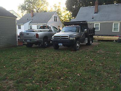 Dodge : Ram 2500 Slt 1997 dodge ram 3500 2 3 yard dump truck 12 valve cummins 5 speed chelsea pto