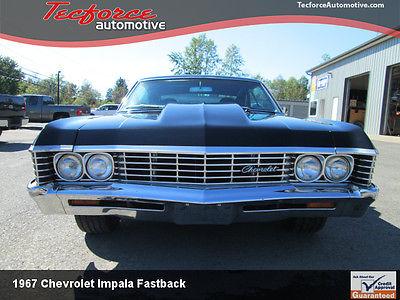 Chevrolet : Impala 1967 impala fastback prostreet tubbed big block chevy bbc front back halfed, 1