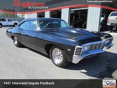 Chevrolet : Impala 1967 impala fastback prostreet tubbed big block chevy bbc front back halfed, 0