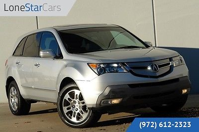 Acura : MDX AWD 2009 silver awd clean carfax leather roof